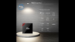 X96W TV Box Test complet