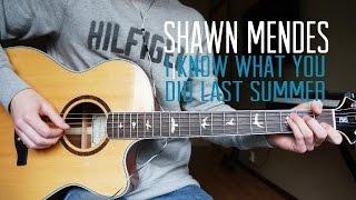 Shawn Mendes - I Know What You Did Last Summer - Guitar Cover | Mattias Krantz