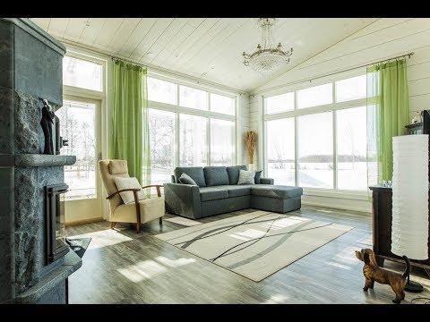 Maison en bois moderne écologique en madriers contrecollés de Rovaniemi  Maisons Bois Finlande chalet