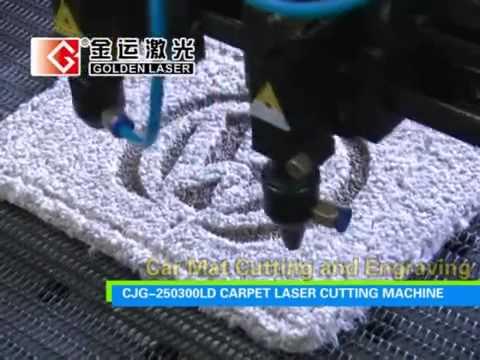 Laser Cut Floor Mats >> Laser Cutting Carpet Car Mat