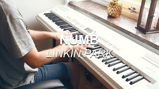 """""""Numb (Linkin Park)"""", Piano Solo Cover by Joel Sandberg + Lyrics"""