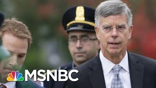 'Tone Of Moral Outrage' In Bill Taylor's Statement | Morning Joe | MSNBC