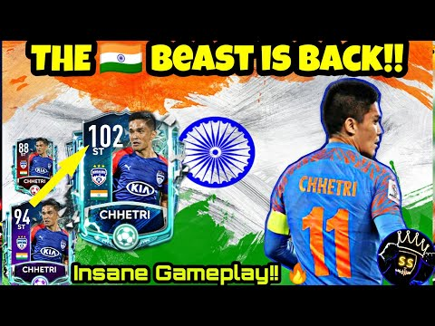 HOW GOOD IS ISL TOTSSF SUNIL CHHETRI?🤔 | DETAILED REVIEW | 🇮🇳 BEAST [FIFA Mobile 20] #KingSS
