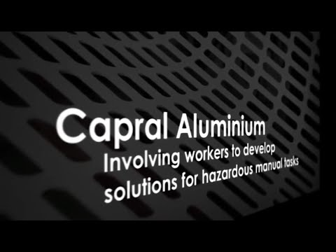 Capral Aluminium - Involving Workers To Develop Solutions For Hazardous Manual Tasks