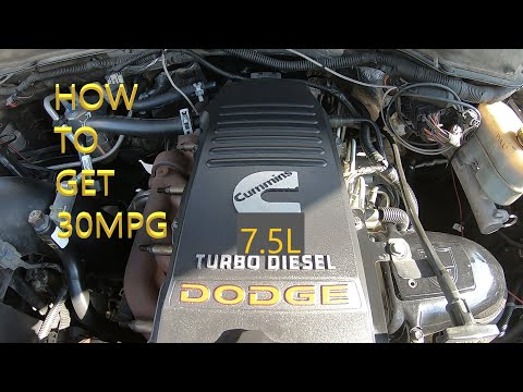 HOW TO GET THE BEST FUEL ECONOMY OUT OF MY CUMMINS DIESEL