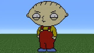 Minecraft Tutorial: How To Make Stewie (Family Guy)