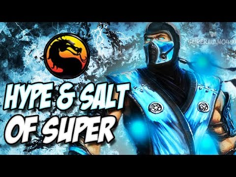 THE WORST MORTAL KOMBAT PLAYER OF ALL TIME... - Mortal Kombat X Hype & Salt Of Super #16