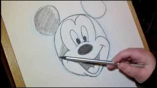 How To Draw Mickey Mouse | Disney Tutorial
