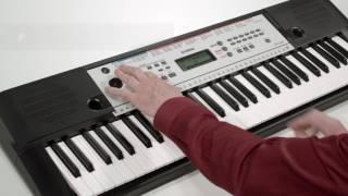 Yamaha YPT-260 Digital Keyboard Overview