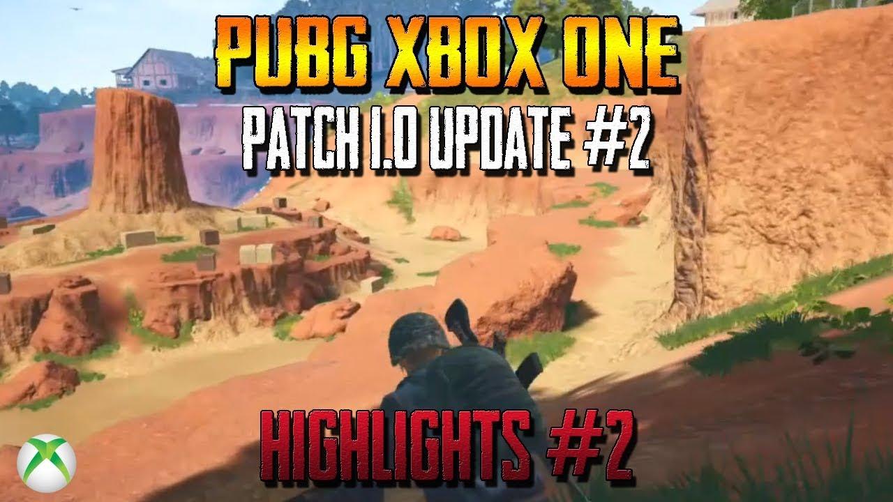 xbox one pubg patch 2