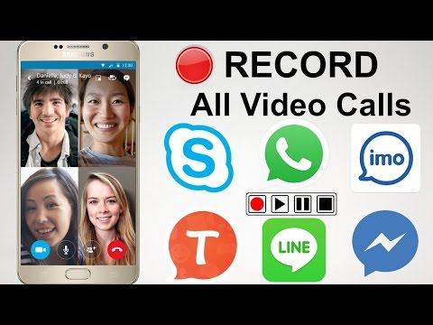 How to Record Video call on IMO , Skype , Whats app , Facebook on Mobile.2017