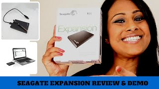 Cheap portable hard drive | Seagate expansion review & demo