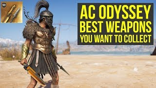 Assassin's Creed Odyssey Best Weapons YOU WANT TO COLLECT (AC Odyssey Best Weapons)