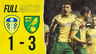 FULL MATCH REPLAY Leeds United v Norwich City The Canaries go top after win at Elland Road