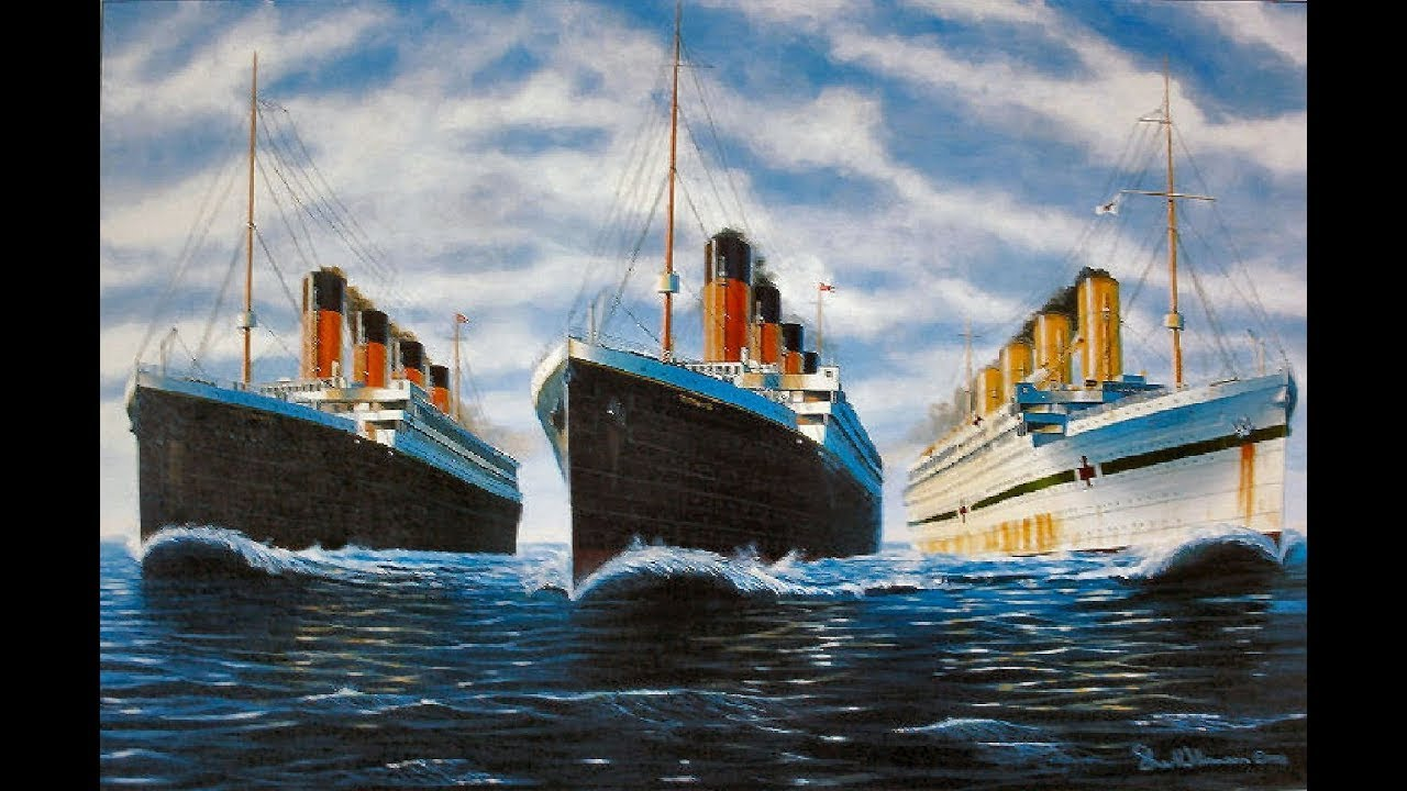 Olympic Britannic The Olympic Class Ships Titanic