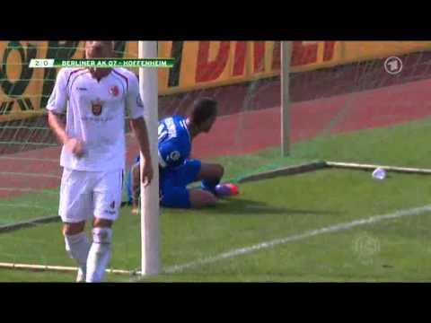 Berliner AK 07 - Hoffenheim 1. DFB-Pokal Runde 18.08.2012 4:0