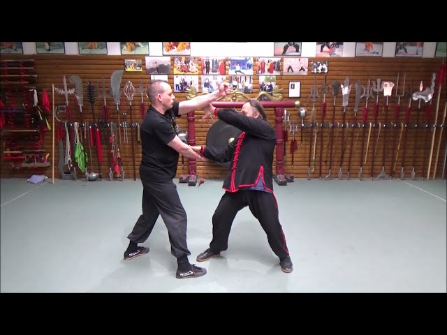 Grandmaster Walter Toch with internal energy in Wing Chun for selfdefense Live !