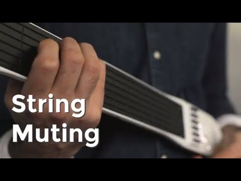 How to String Mute on the Artiphon INSTRUMENT 1