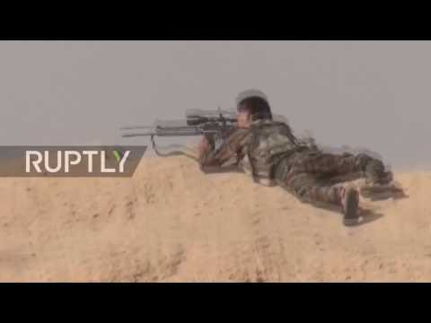 Syria: SAA launches counter-attack against militants in Deir ez-Zor