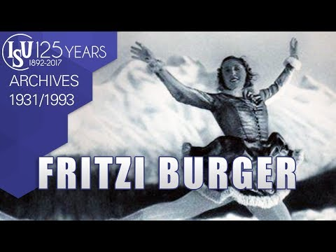 Fritzi Burger (AUT) - Skating in Vienna 1931/1993 - ISU Archives