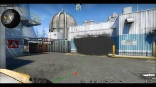 CSGO - Nuke Warehouse Smoke