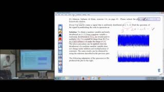 Real-Time DSP Lab: Homework #4 (Random Signals and Correlation)