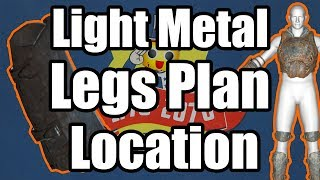 Fallout 76 - Light Metal Legs Plan Location - Where to Find Light Metal Legs