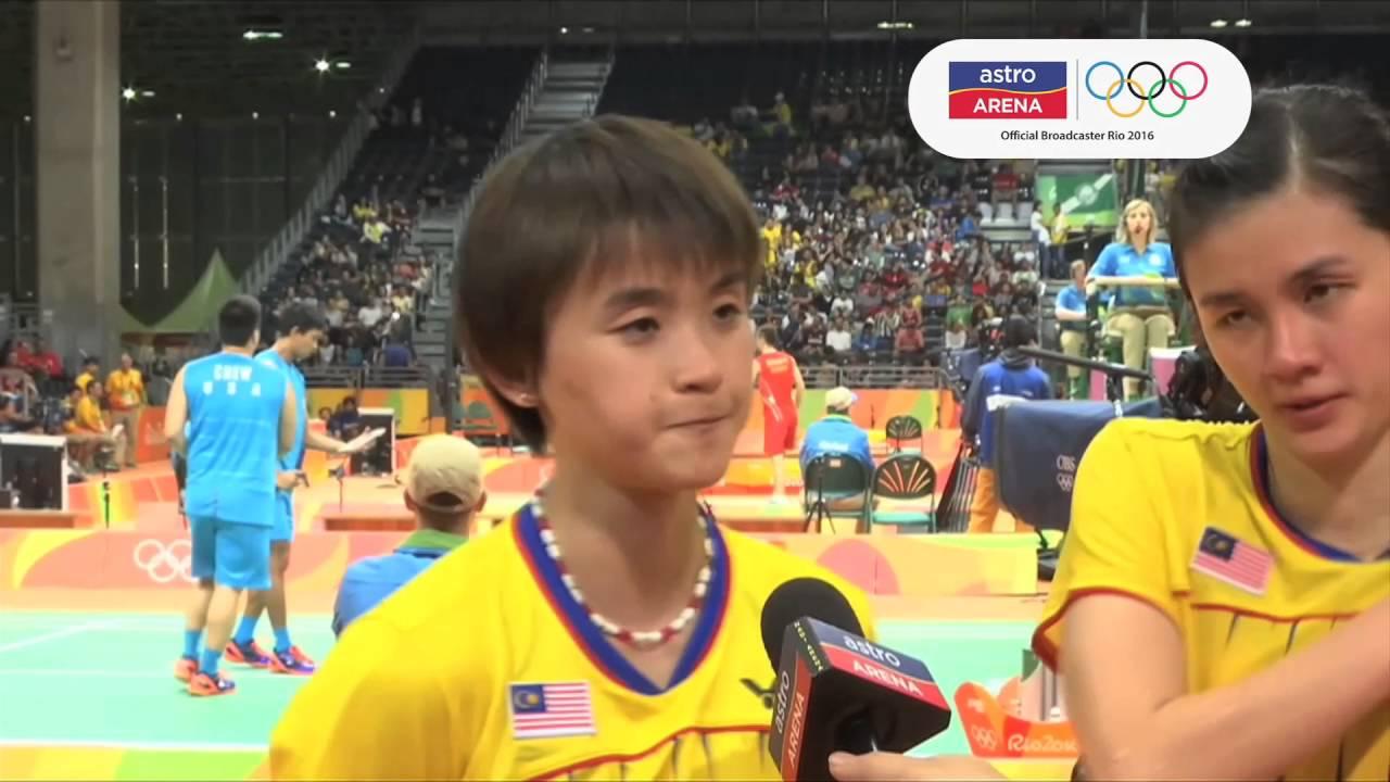 Reaksi Vivian Hoo & Woon Khe Wei MAS
