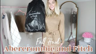 Fall Abercrombie and Fitch Haul | Girly Style \u0026 Neutral Colors