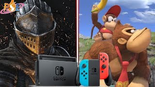 Dark Souls Switch Sales Jump 537% After Release Date Announcement & Super Smash Bros. Ultimate Info!