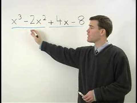 Factoring by Grouping - MathHelp.com- Algebra Help