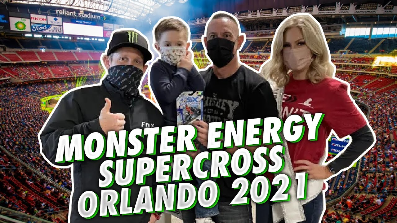 Monster Energy AMA Supercross Orlando 2021 | Race Day Live Interview, Fan Fest and the Main Event