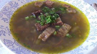 Суп овощной с чечевицей