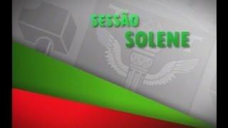 Sess�o Solene - Homenagem ao Sr. Jos� Roberto Silva dos Santos 21/09/2016