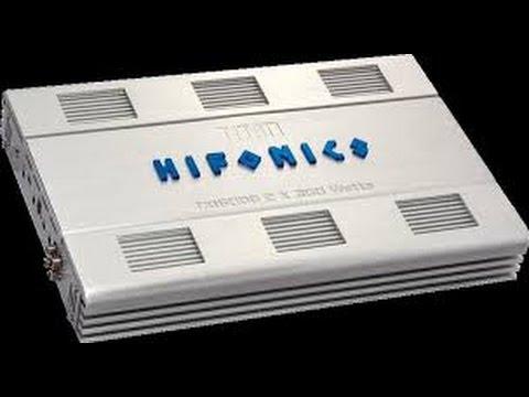 HIFONICS TITAN TXI 5006 OLD SCHOOL REVIEW  (The Beast Of Amplifiers)