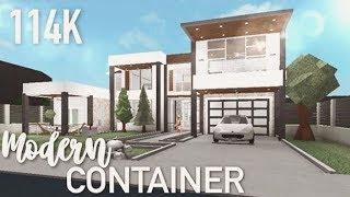 Roblox | Bloxburg | Modern Container Home