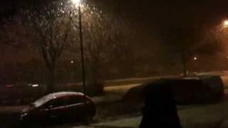 Snow in ayr