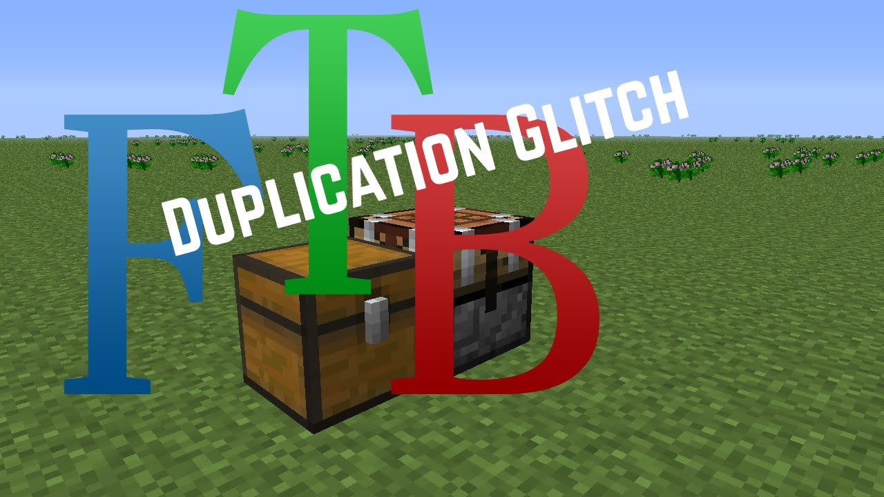 FTB Ultimate Tutorial - Duplication Glitch