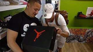VERY RARE UN RELEASED 2017 JORDANS!!! | I GOT SUM HEAAATTTT!!! VLOG