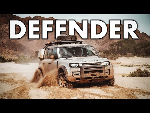UNCENSORED - The NEW Defender ( 15 minutes of offroad!! )