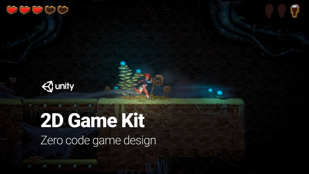 Introducing 2D Game Kit: Learn Unity with drag and drop – Unity Blog
