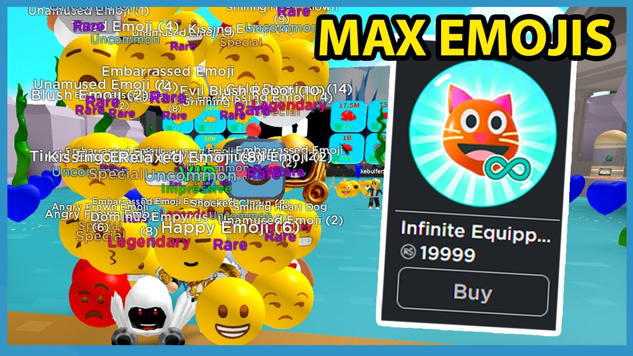 Buying The Infinite Pet Emojis Gamepass In Roblox Emoji Simulator (20k ROBUX)