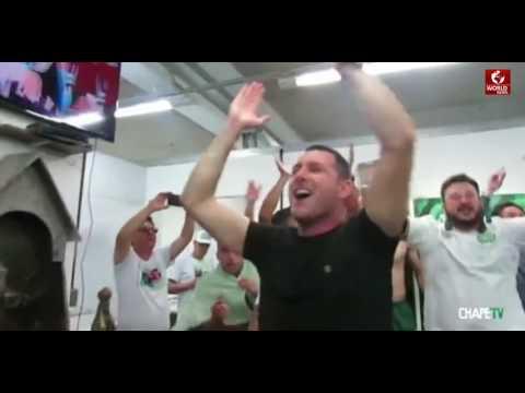 SPORT NEWS 2 - The Team Celebrates Its Copa Sudamericana Semi final Win before deadly crash !!!