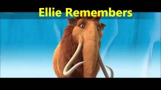trilha sonora a era do gelo 2 ellie remembers