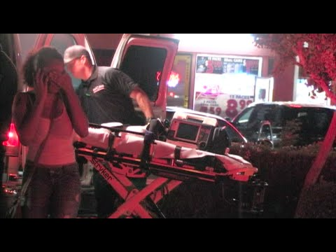 Woman Hit By A Car While Crossing The Street - Vehicle Vs. Pedestrian Crash In Modesto, California