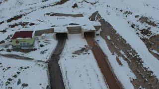 60 yıllık hayal gerçek oldu, Salmankaş Tüneli tamamlandı