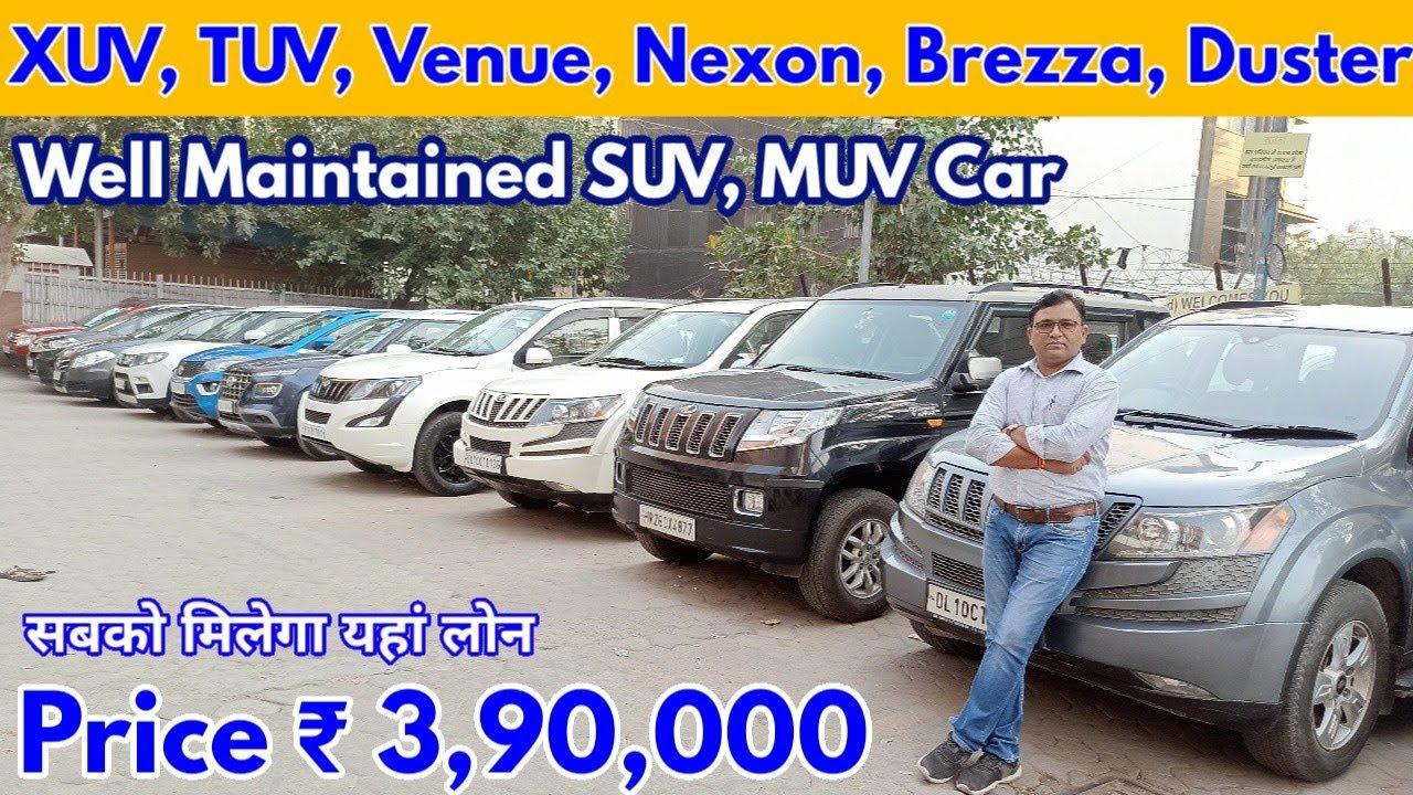 Used SUV MUV Car for Sale  Price ₹ 3,90,000   XUV500, TUV300, Venue, Brezza, Nexon, Duster,WRV   NTE