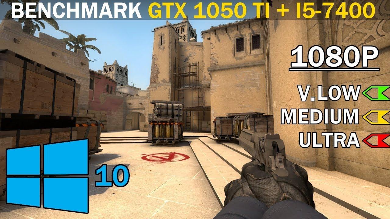 Counter-Strike: Global Offensive - i3-9100F + GTX 1050Ti (1080p High\\Medium\\Low Settings FPS TEST)