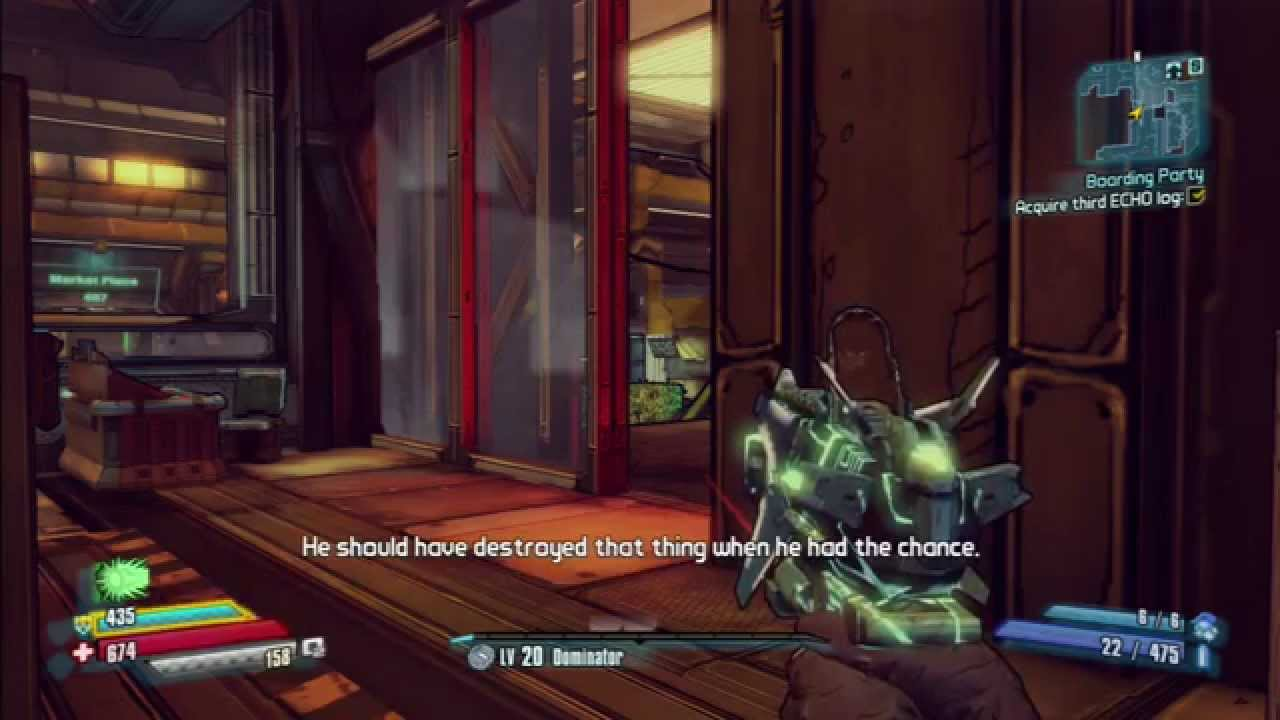 Boarding Party Mission Echo Locations in Borderland: The Pre-Sequel -  YouTube