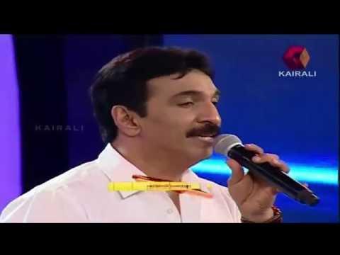 Kairali Utsav 2016: Unni Menon Sings 'ഓളങ്ങൾ  താളം തല്ലുമ്പോൾ'   Part 1